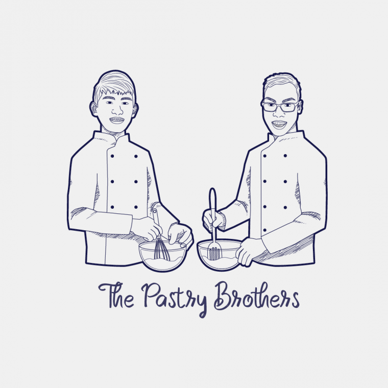 The Pastry Brothers Logo Design