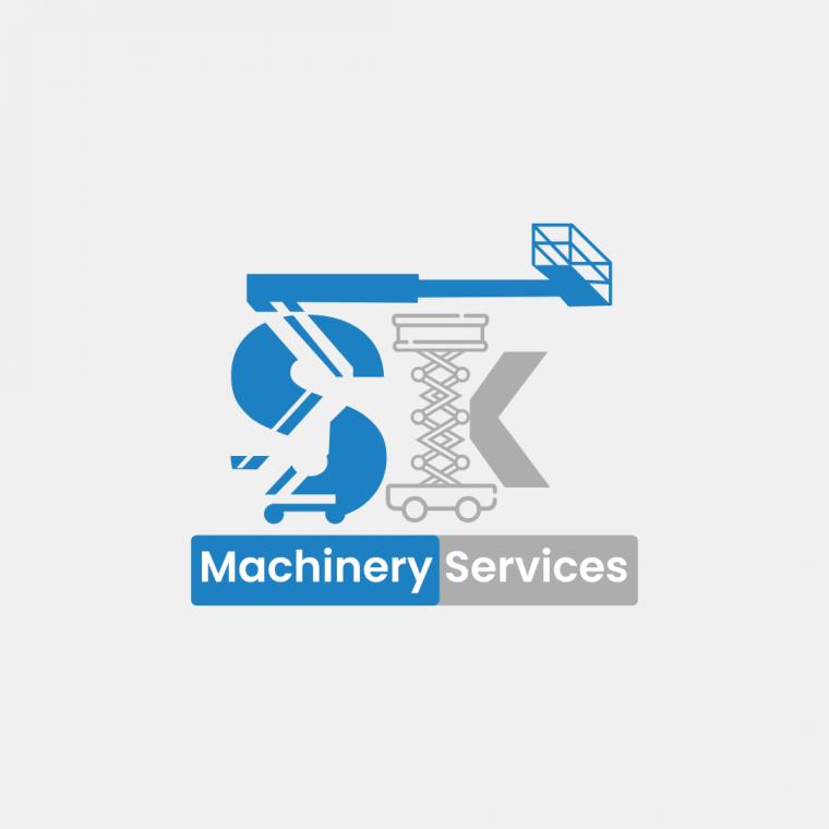 SK Machinery Logo